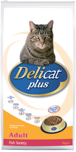 DELICAT PLUS Adult Fish Variety