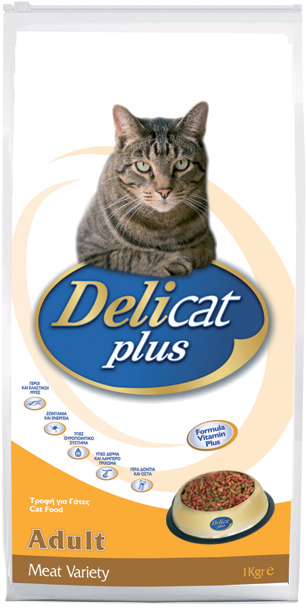 DELICAT PLUS Adult Meat Variety