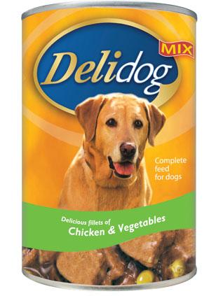 DELIDOG MIX Chicken & Vegetables