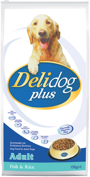 DELIDOG PLUS Adult Fish & Rice