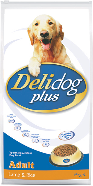 DELIDOG PLUS Adult Lamb & Rice