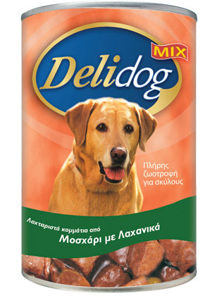DELIDOG MIX Beef & Vegetables