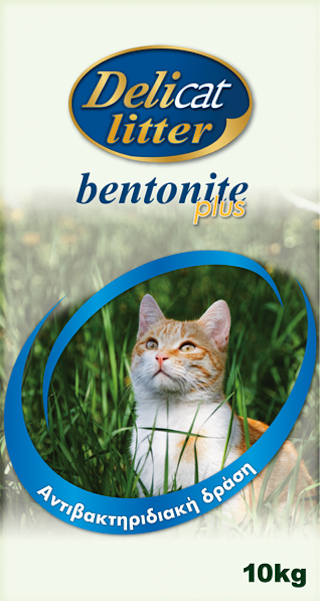DELICAT LITTER Bentonite Plus Antibacterial