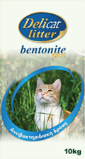DELICAT LITTER Bentonite Plus Antibacterial - PROVET