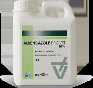 ALBENDAZOLE/ PROVET oral susp. 10%