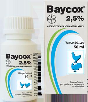 BAYCOX 2,5% oral sol.