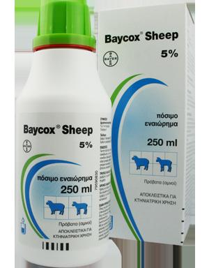 BAYCOX sheep oral susp.