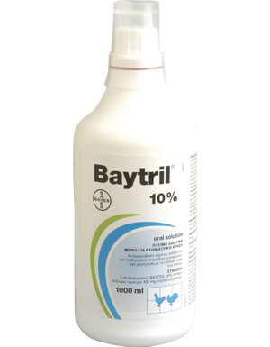BAYTRIL 10% oral sol.