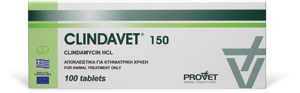 CLINDAVET tabs 150 mg