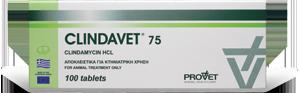 CLINDAVET tabs  75 mg