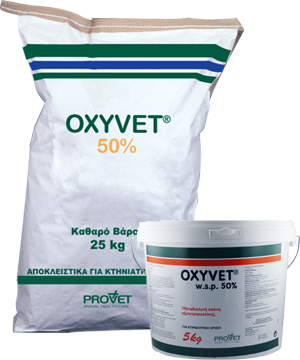 OXYVET 50% powder for oral sol.
