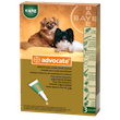 ADVOCATE spot-on for    small dogs ≤4kg