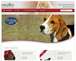 Provet SA Pet Food & Accessories